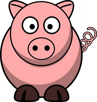 404x425 Cartoon Farm Animals Clipart