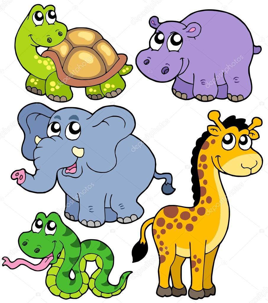 906x1023 Cartoon Animals Stock Vectors, Royalty Free Cartoon Animals