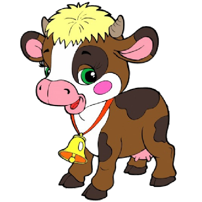 400x400 Cartoon Clipart Farm Animal
