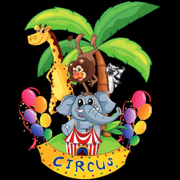 600x600 Circus Elephant