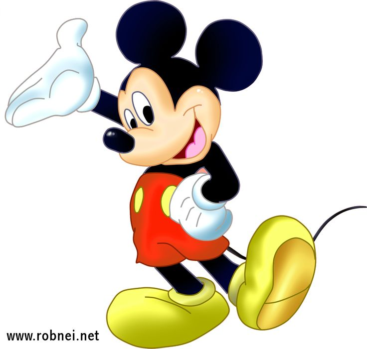 Cartoon Picture Of Mouse