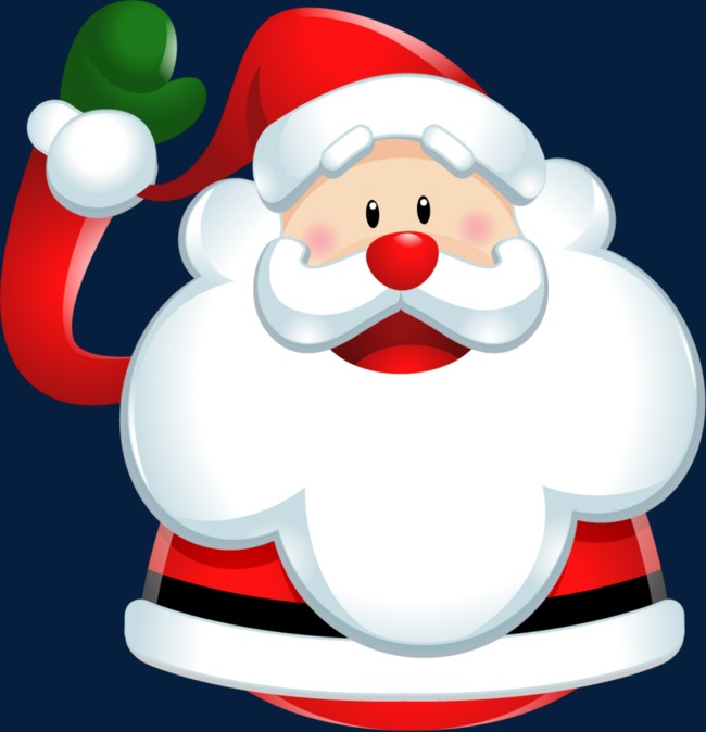 650x674 Cartoon Santa Claus, Santa Claus Element, Santa Claus Creative