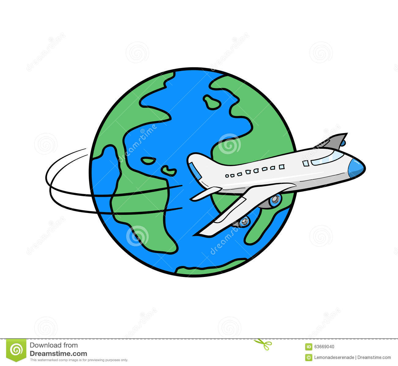 Cartoon Picture Of The World Globe Free Download Best Cartoon