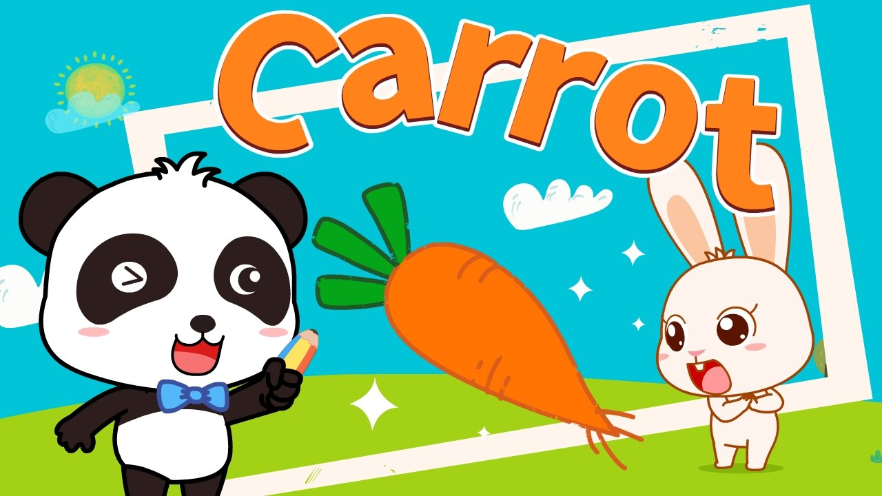 1280x720 Carrots Funny Cartoons Animation For Babies Babybus
