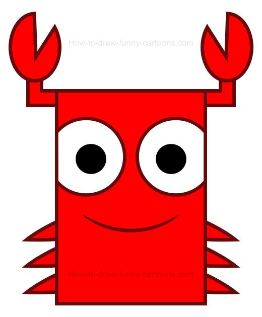 520x630 Crab Clipart
