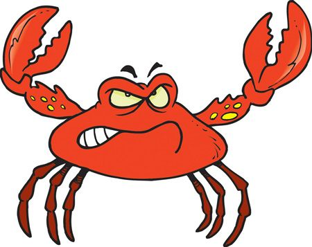 450x357 Best Crab Cartoon Ideas Crustacean Crab Image