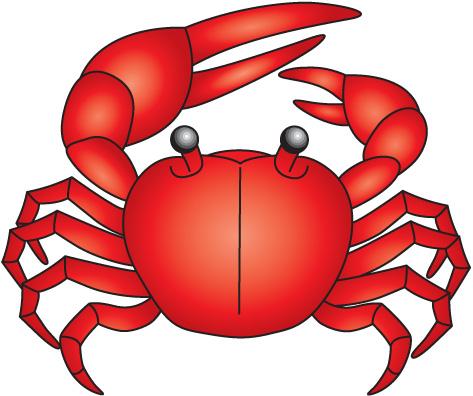 473x396 Crab Clip Art Cartoon Free Clipart Images 4