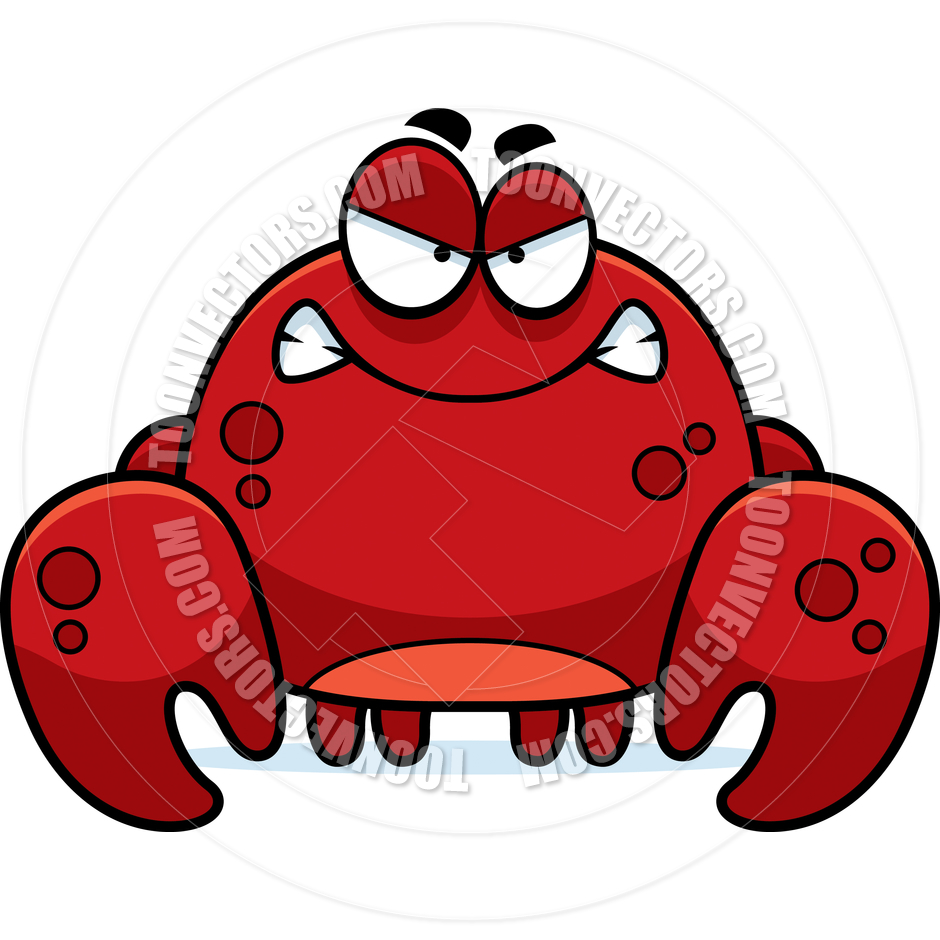 940x940 Crab Clipart Angry Crab
