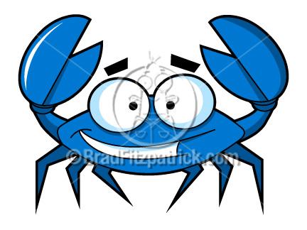 432x324 Cartoon Blue Crab Clip Art Blue Crab Clipart Graphics Vector