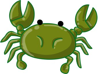 340x259 Crabs Crab Clipart Free Clip Art Images Clipartwiz