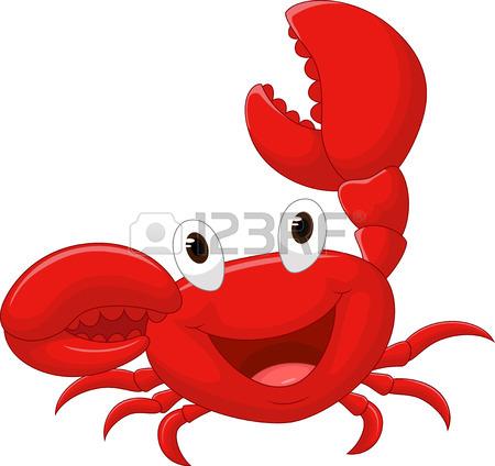 450x424 Cute Crab Cartoon Royalty Free Cliparts, Vectors, And Stock