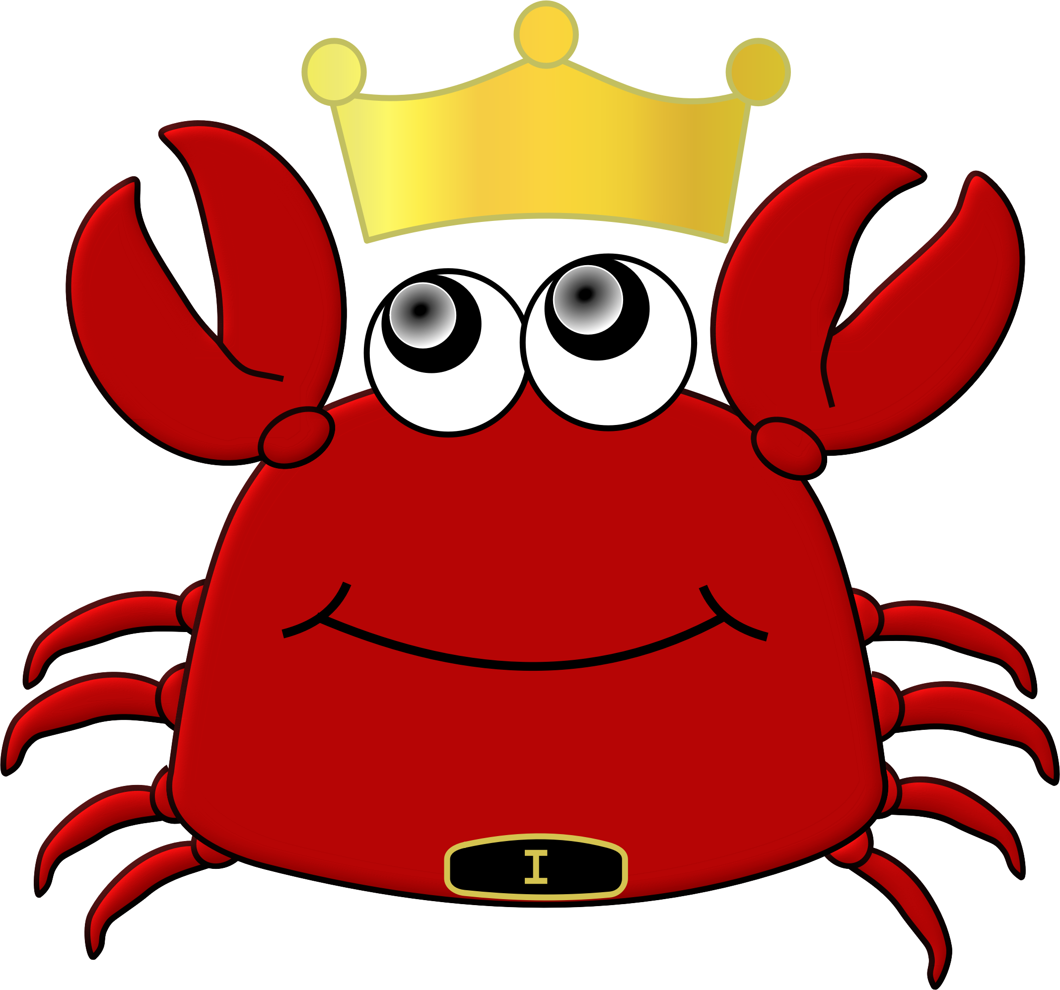 2135x1994 Free Of King Crab Cartoon Vector Files Clip Art