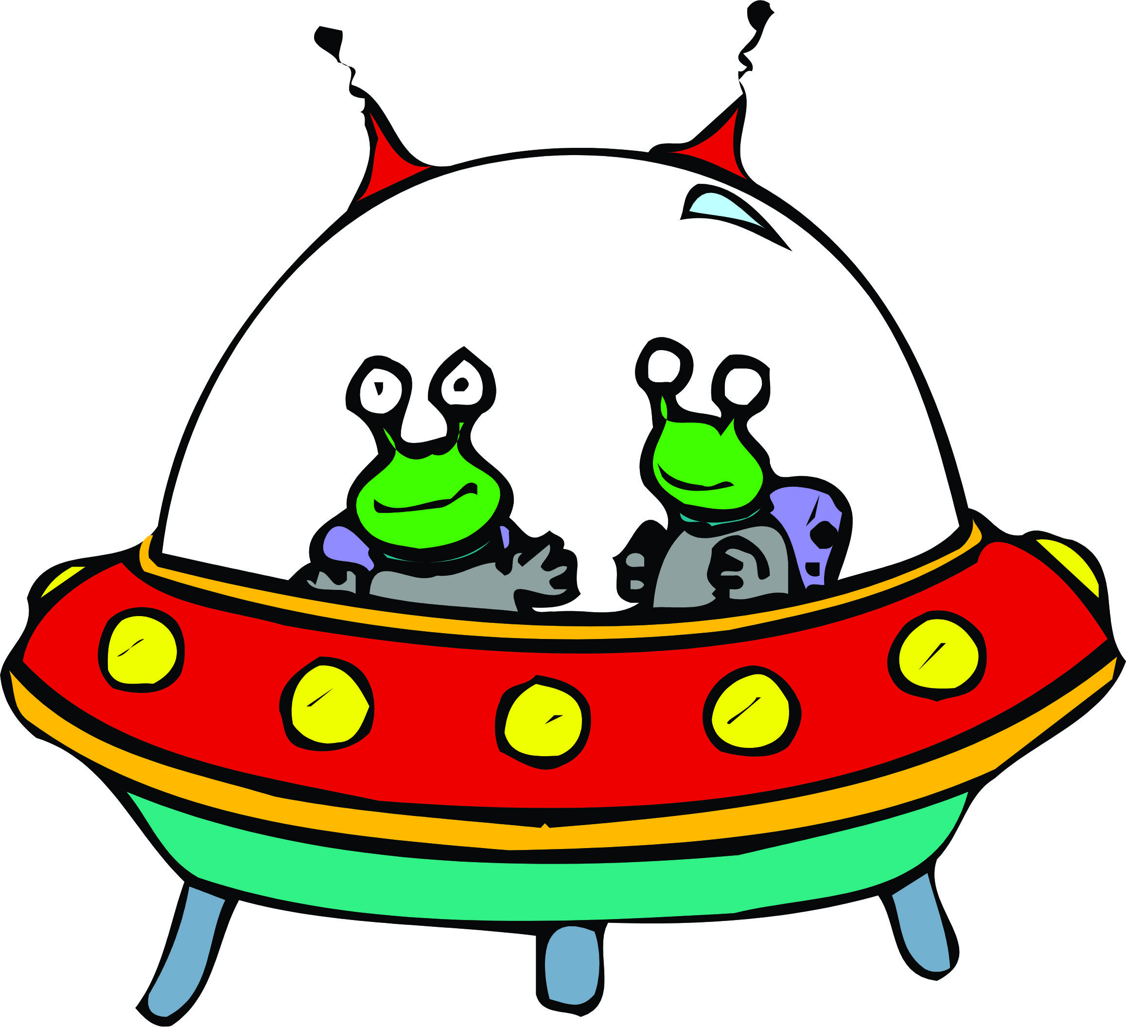 2316x2112 Sci Fi Clipart Cute Alien Spaceship