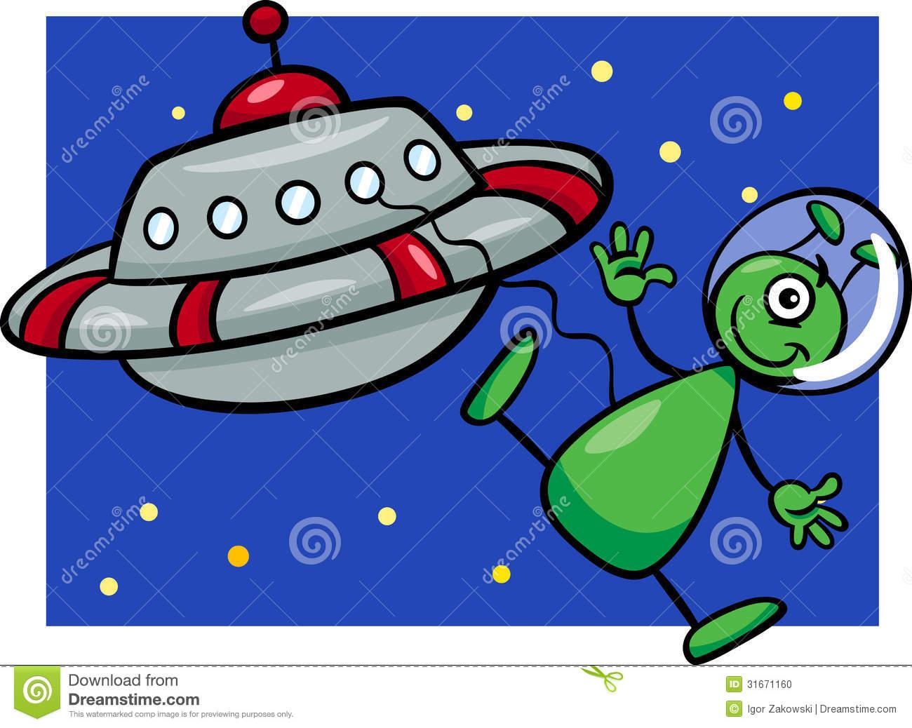 1300x1038 Ufo Clipart Funny Alien
