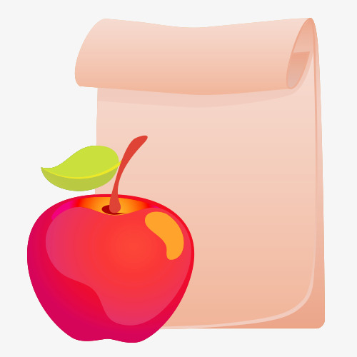 500x500 Cartoon Apples, Apple, Paper Cartoon Material, Vector Material Png
