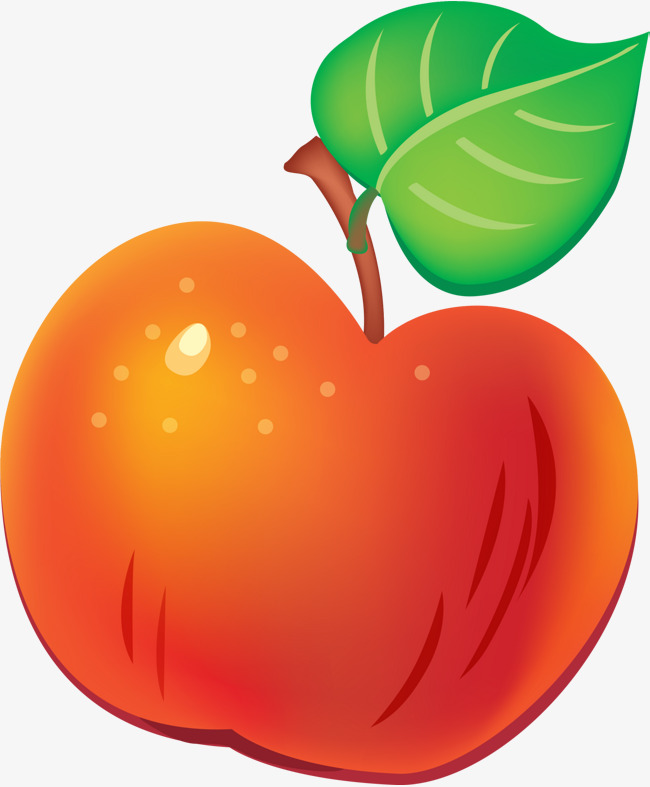 650x787 Red Cartoon Apple, Red Apple, Cartoon Fruit, Fruit Png Image