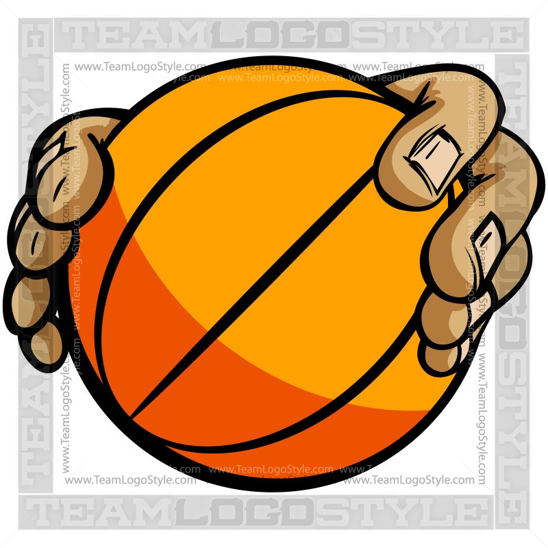 800x800 Hands Holding Basketball Cartoon