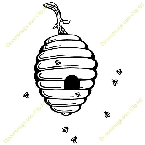 500x500 Top 80 Hive Clip Art