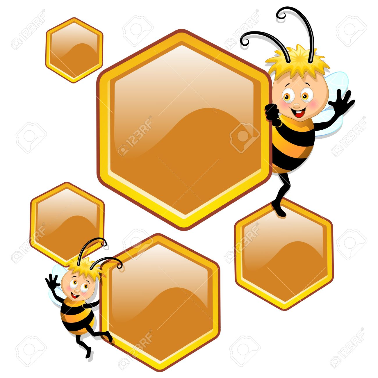 1300x1300 Bee Hive Clipart Cartoon