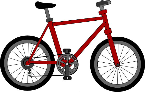 600x379 Bicycle Clip Art