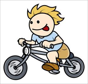 300x286 Boy Riding On Bike
