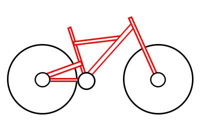 400x250 Drawing A Cartoon Bicycle