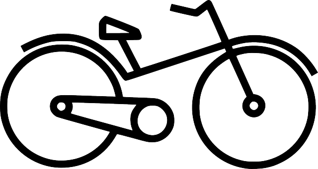 640x341 Two, Outline, Symbol, Drawing, Cartoon, Cycle, Bike