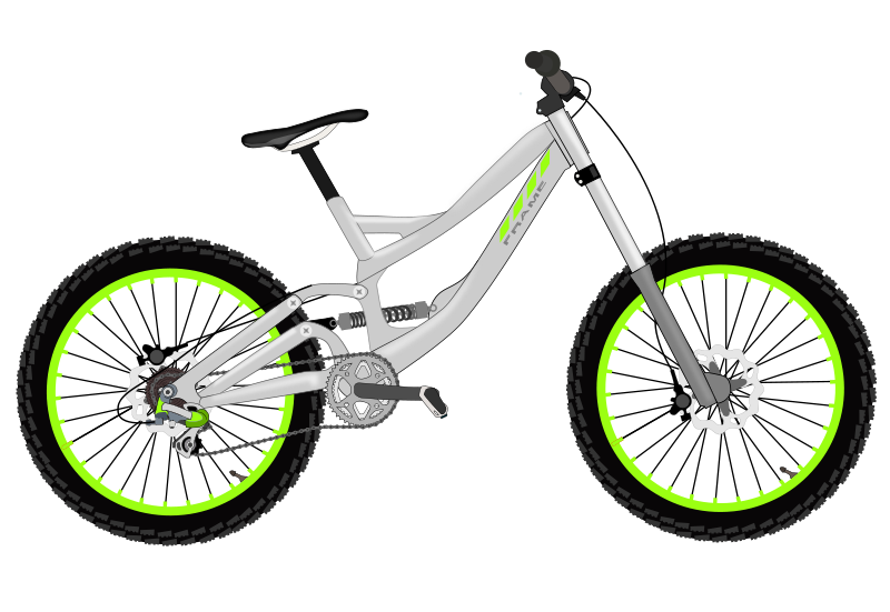 800x551 Bicycle Bike Clipart Image Cartoon Icon Wallpapers