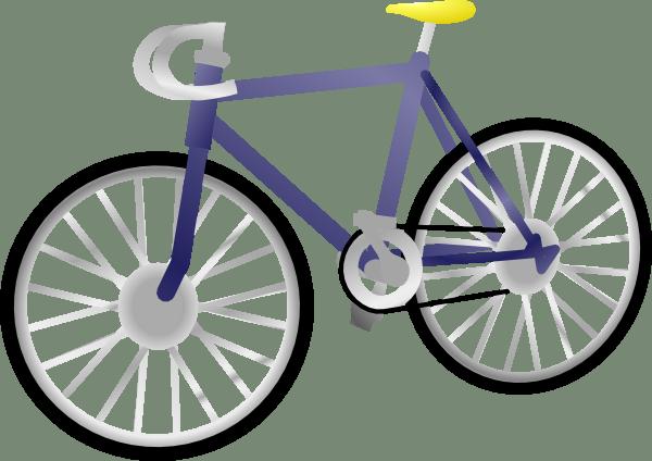 600x424 Bicycle Clipart Cartoon