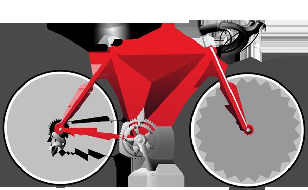 600x371 Bike Bicycle Cartoon Clipart Kid