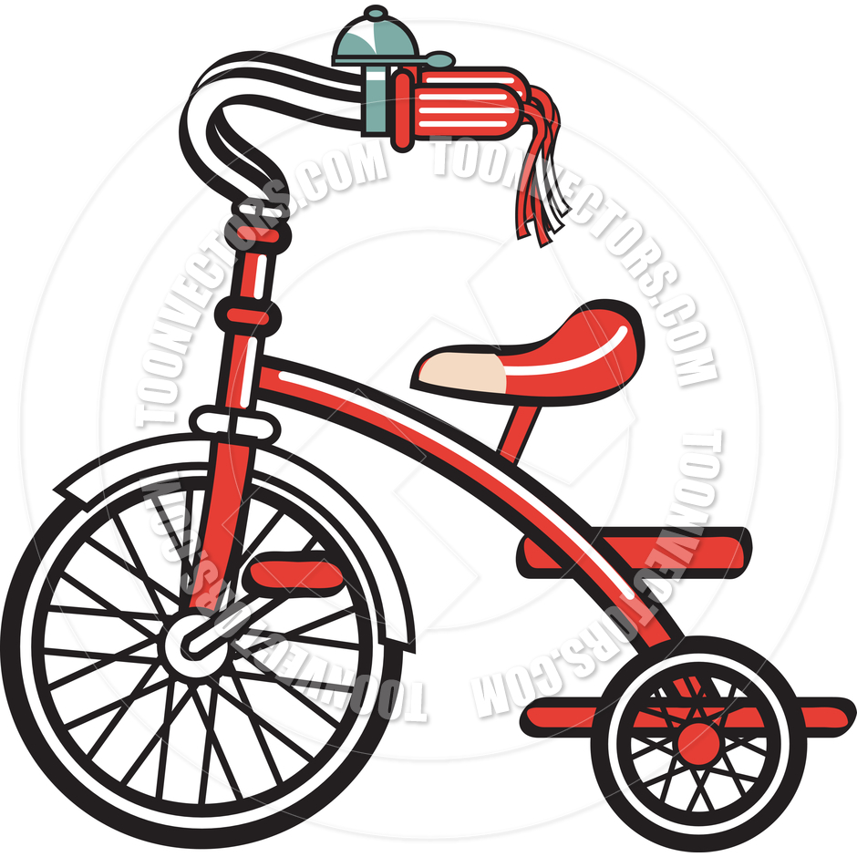 940x940 Tricycle Clipart Cartoon