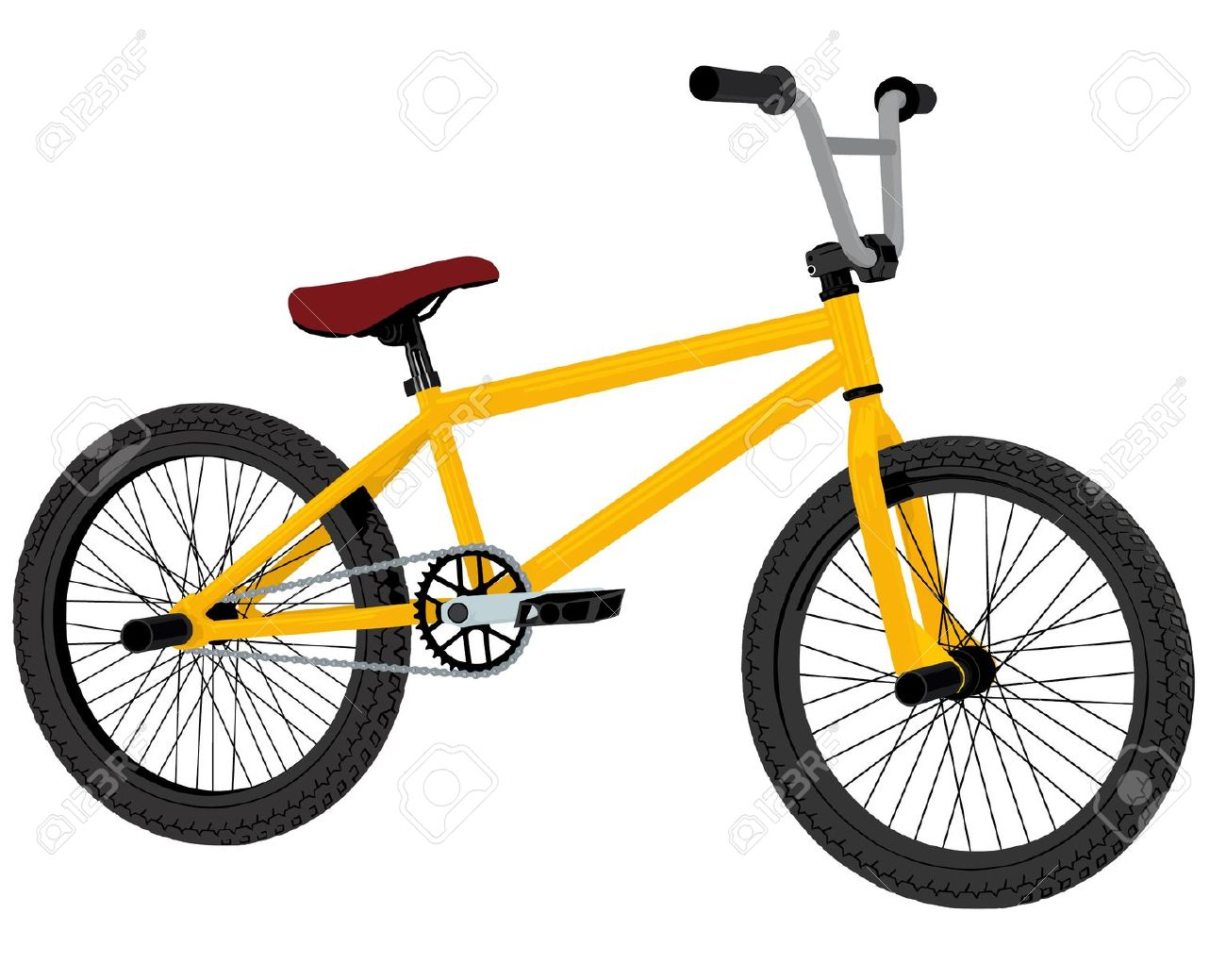 1300x1039 Bmx Clipart Bmx Bike