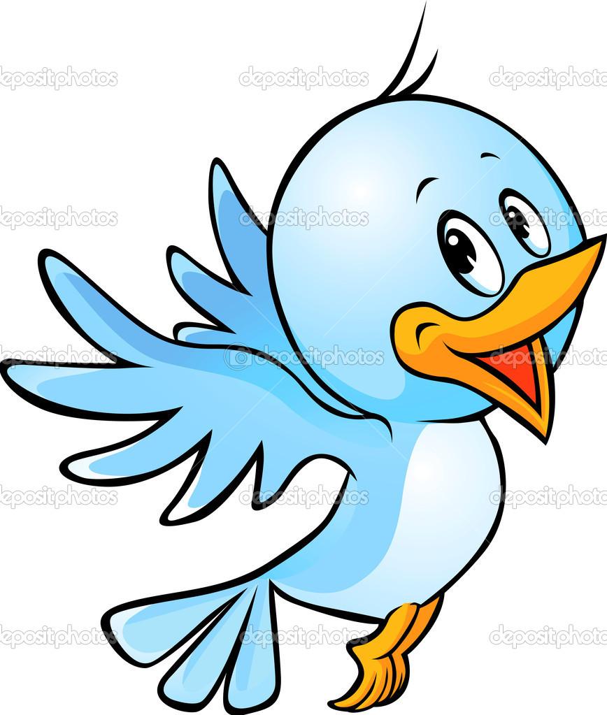 868x1023 Images Of Cartoon Birds Clip Art Large Blue Bird Png Clipart