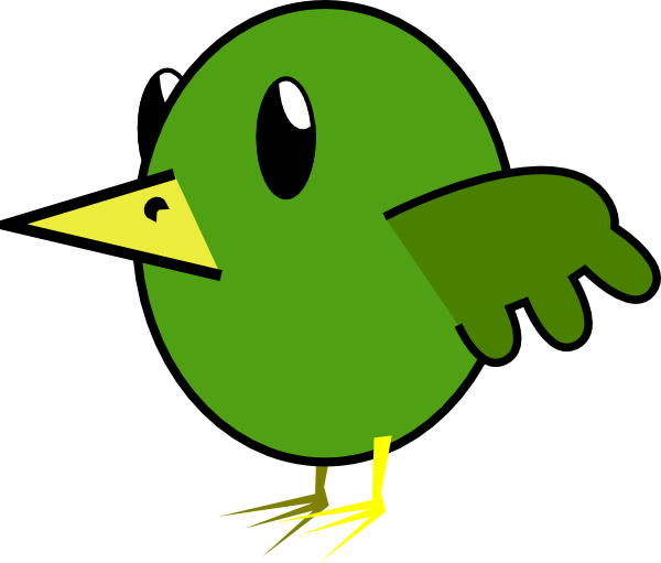 600x511 Bird Cartoon Clip Art