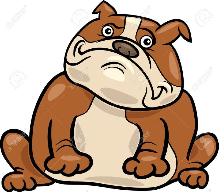 Cartoon Pictures Of Bulldogs