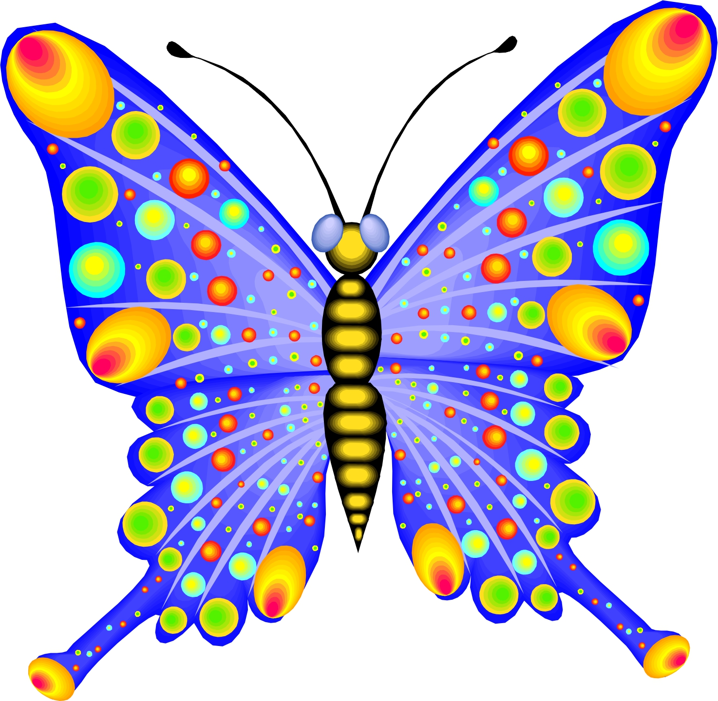 1474x1440 Butterfly Cartoon Pictures