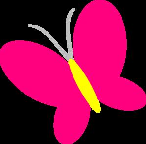 298x294 Butterfly Clipart Cute Cartoon