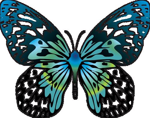 500x394 Cartoon Blue Transparent Butterfly Clipartu200b Gallery Yopriceville