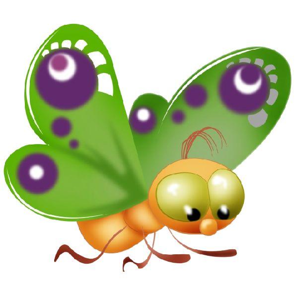600x600 26 Best Animation, Cartoon Images Butterflies