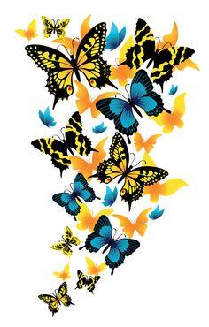 236x370 Images Of Cartoon Butterflies