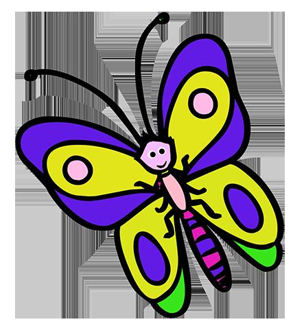 427x472 Butterflies Butterfly Clipart 7