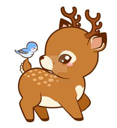 236x257 Cute Deer Cartoon Vector 1544999