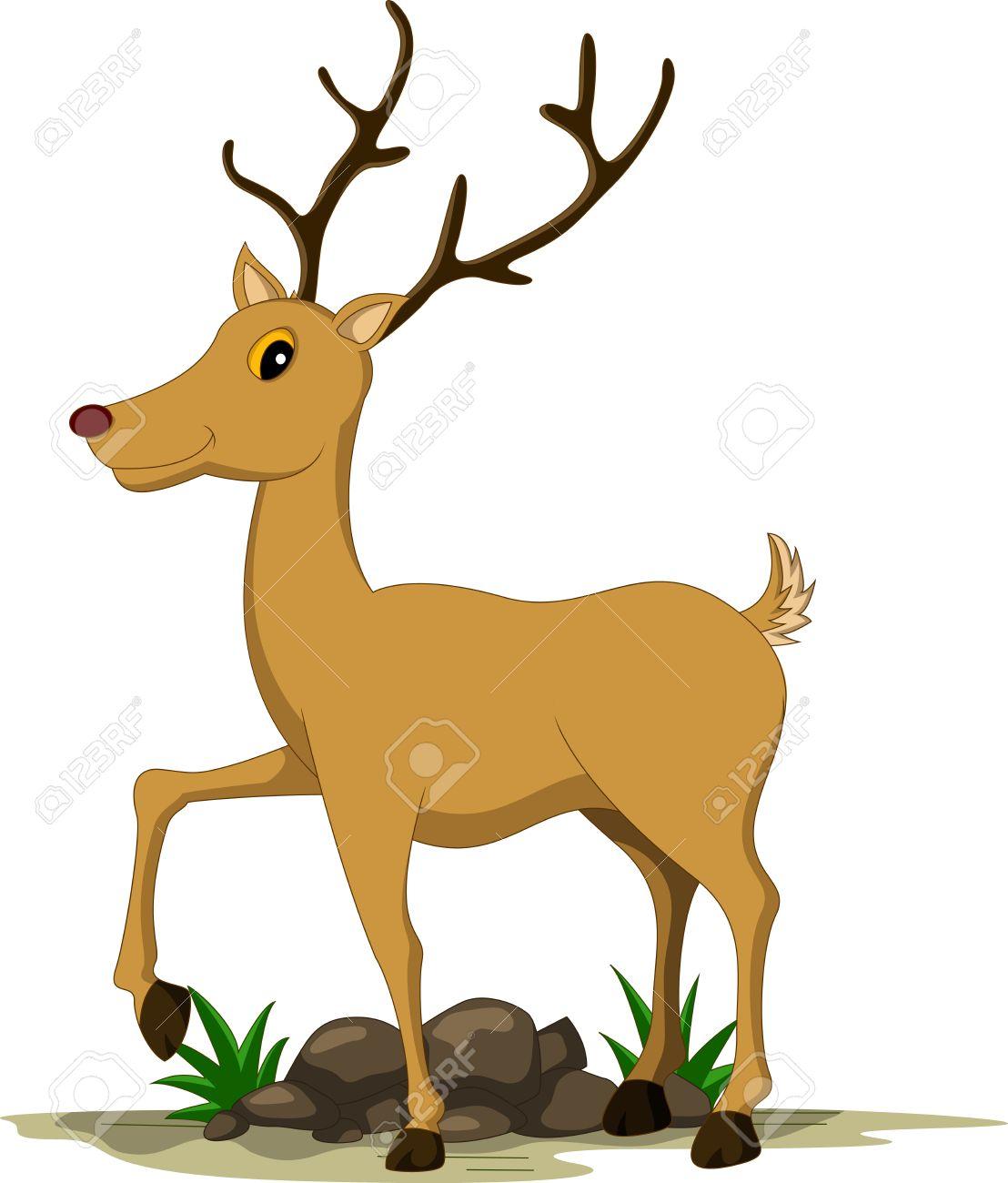 1108x1300 White Tailed Deer Clipart Cartoon