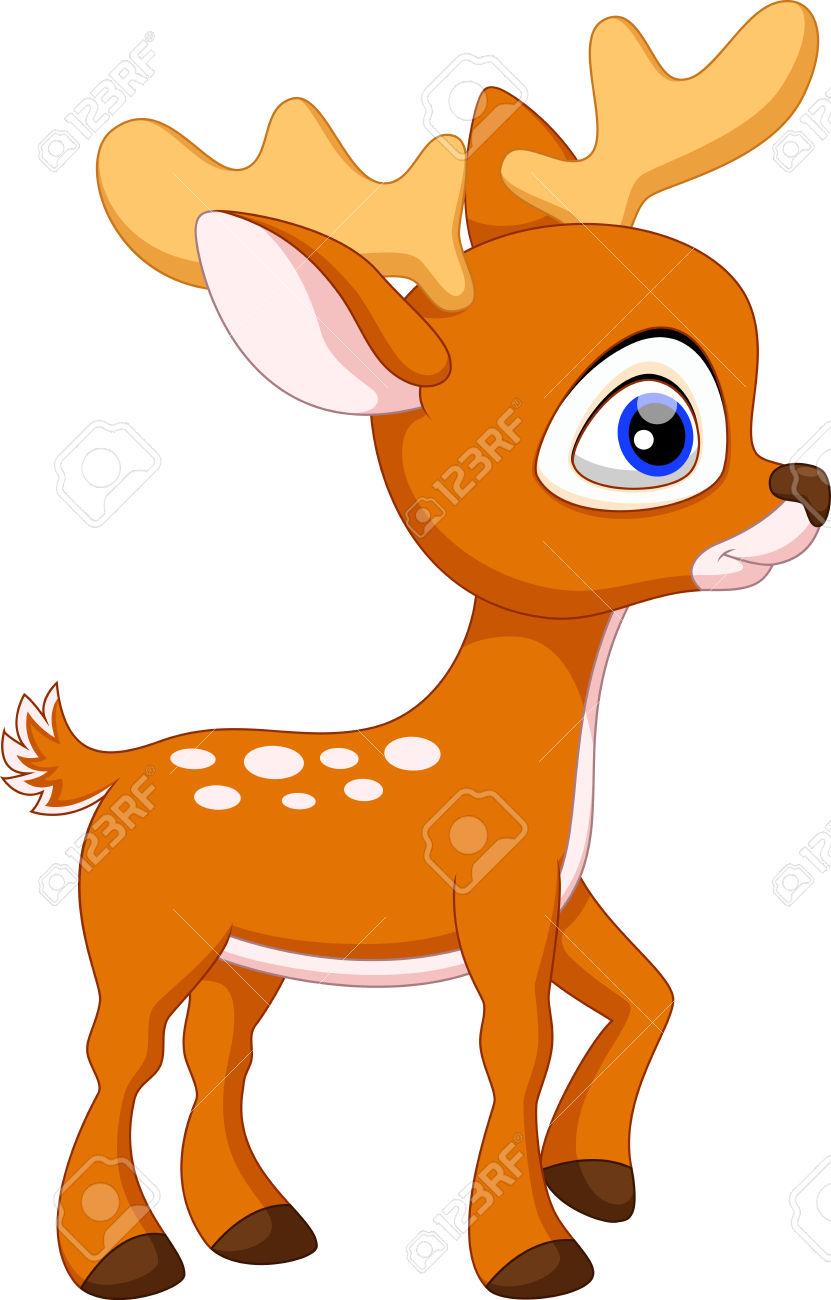 831x1300 Cartoon Baby Deer