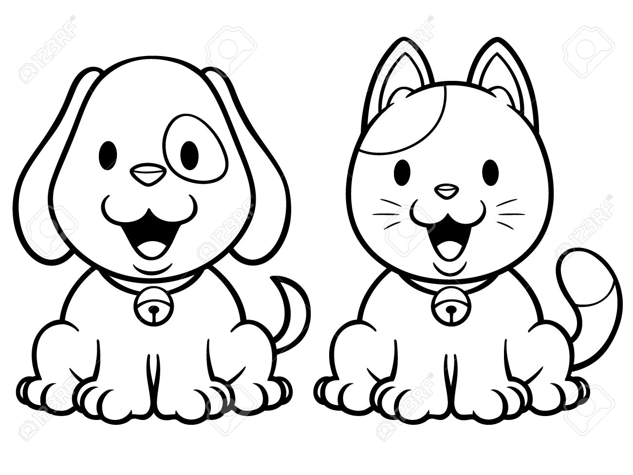 Cartoon Pictures Of Dogs And Cats | Free download on ...