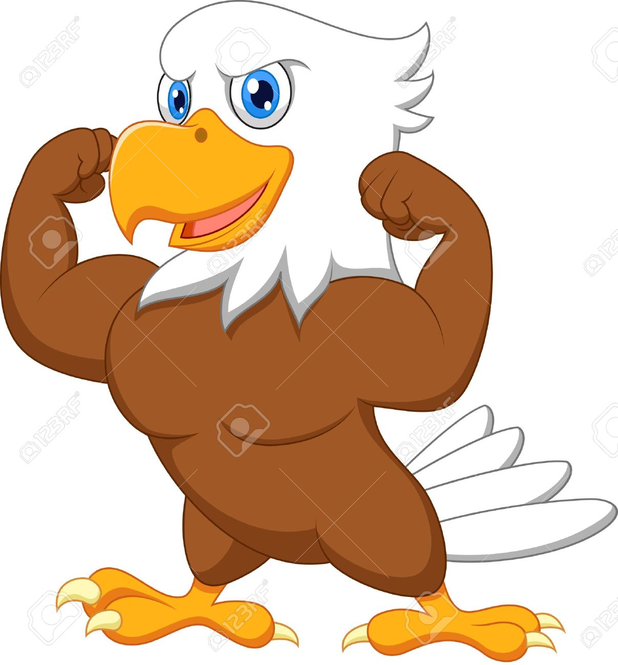1207x1300 Strong Eagle Royalty Free Cliparts, Vectors, And Stock