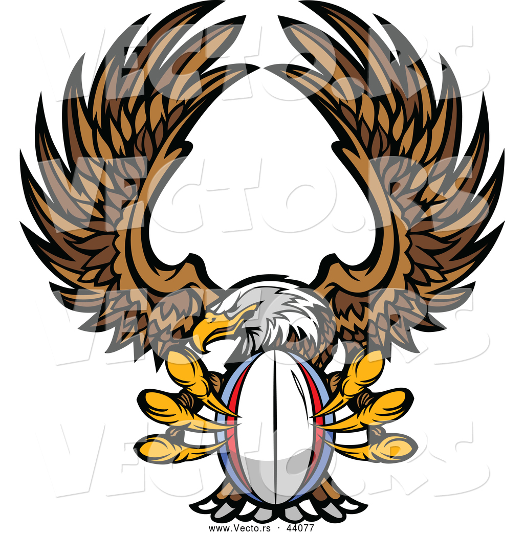 1024x1044 Vector Of Competitive Cartoon Bald Eagle Mascot Flying