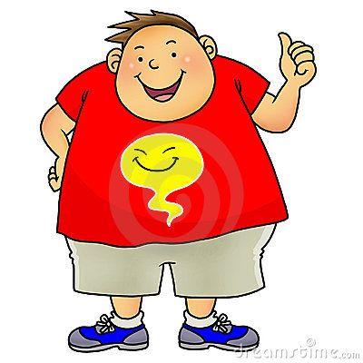 400x400 Fancy Fat Boy Cartoon Fat People Cartoon Clip Art