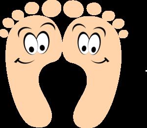 300x261 Cartoon Feet Clipart Feet Clipart