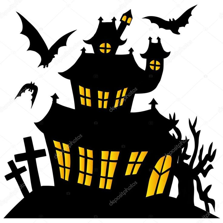 Cartoon Pictures Of Haunted Houses